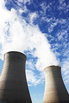 Usina nuclear para a produção de eletricidade