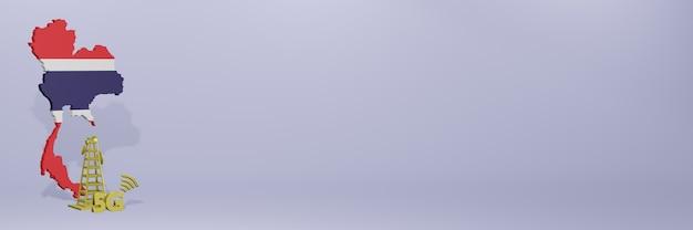 Uso de 5g na costa rica para as necessidades de tv de mídia social e espaço em branco da capa do site