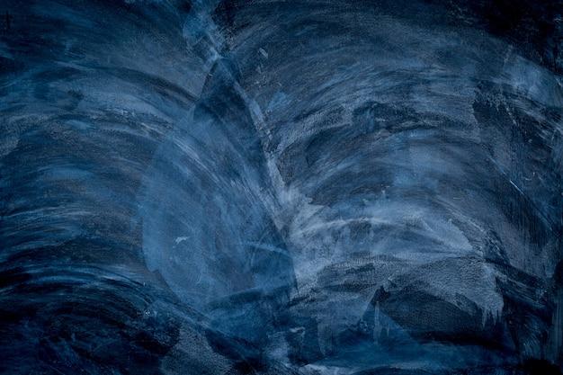 Uso de parede abstrato preto e azul escuro para o fundo
