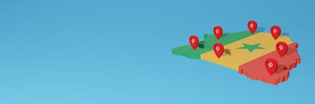 Uso do pinterest no senegal para atender às necessidades de tv nas redes sociais e cobertura do plano de fundo do site