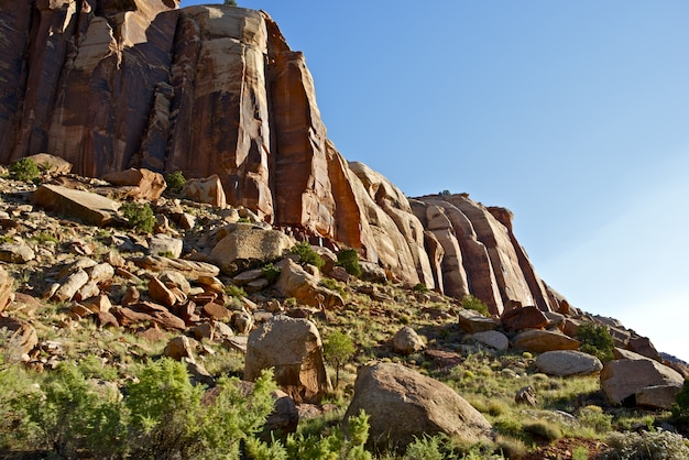 Utah rocks formations