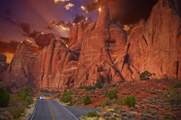 Utah scenic road trip