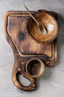 Utensílio de cozinha de madeira