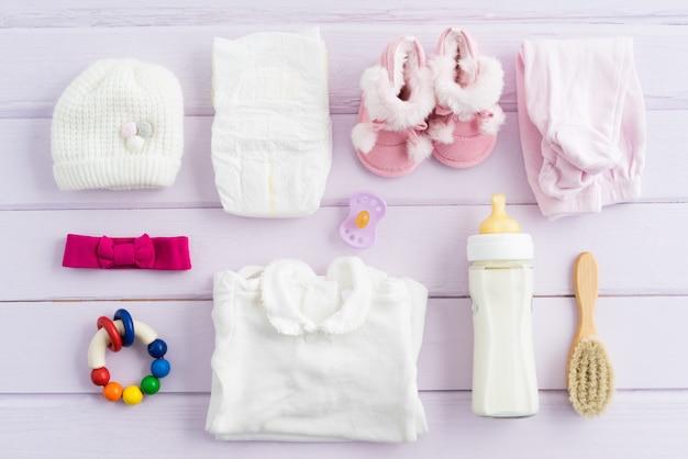 Utensílios de bebê