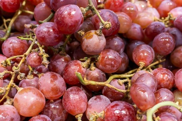 Uvas de frutas frescas