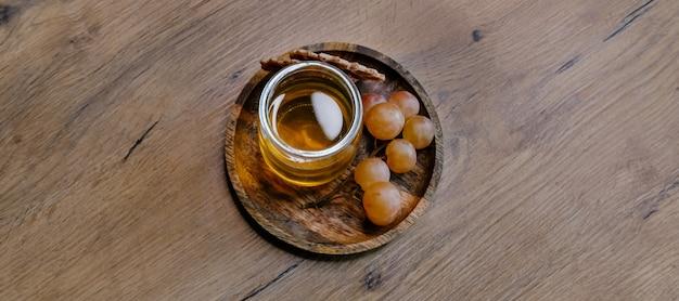 Uvas e mel