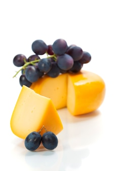 Uvas e queijo