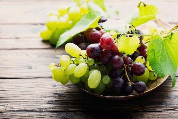 Uvas frescas doces