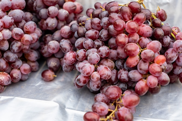 Uvas tóxicas em supermercados
