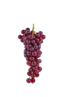 Uvas vermelhas isoladas