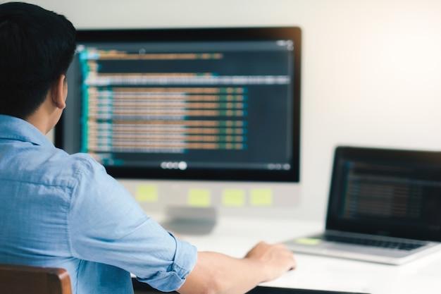Ux ui e tecnologia de desenvolvimento de programação.