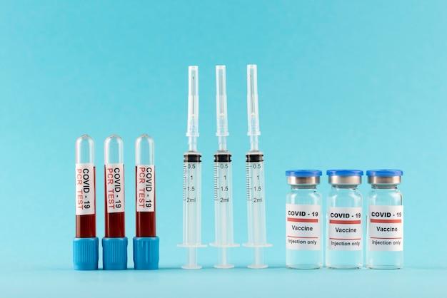 Vacina covid19 e arranjo de teste