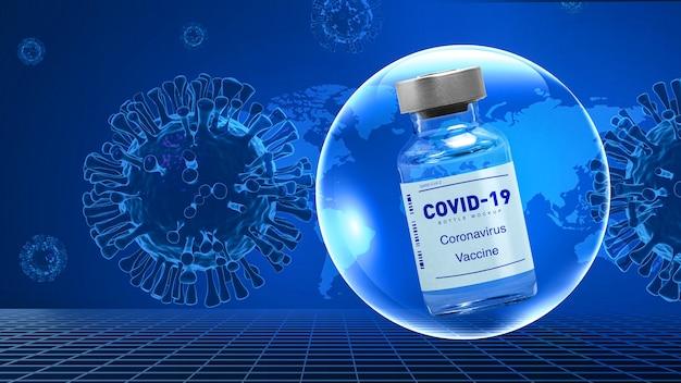 Vacinação contra o coronavírus vacina covid19 conceito médico