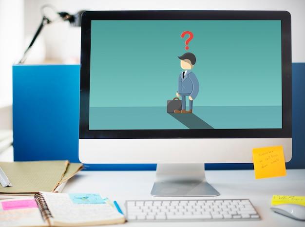Vaga recrutamento de carreira disponível conceito de trabalho