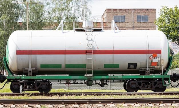 Vagão tanque ferroviário