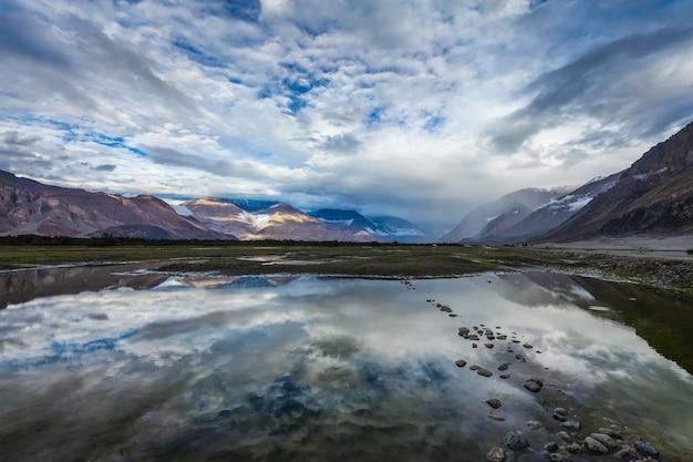 Vale nubra ladakh índia
