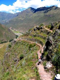 Vale sagrado dos incas de urubamba, peru, américa do sul