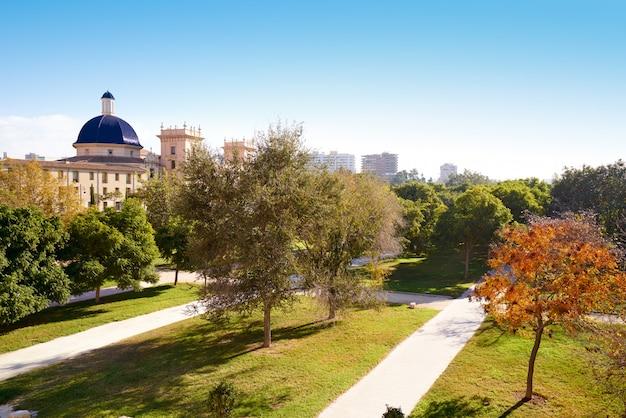 Valencia san pio v vista do parque turia
