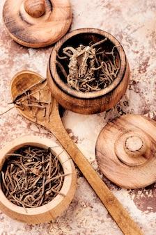 Valeriana de raiz seca
