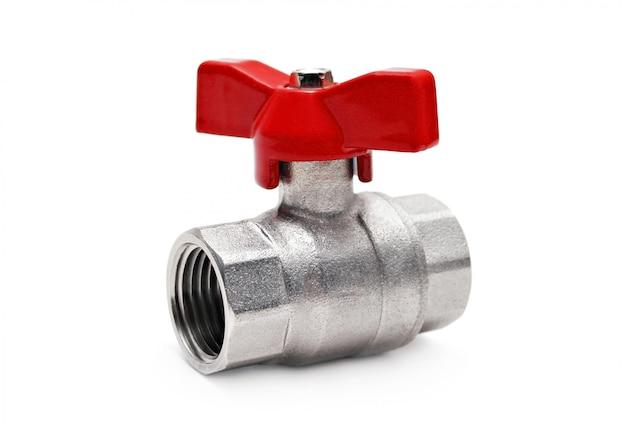 Válvula de água isolada