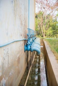 Válvula de porta de água