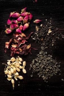 Variação de chá seco