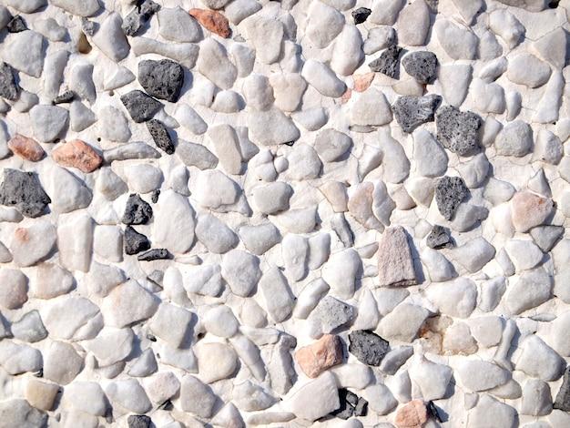 Várias pedras de seixo textura