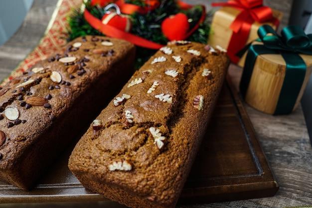 Várias sobremesas e bolos da região norte do peru muito comuns no natal