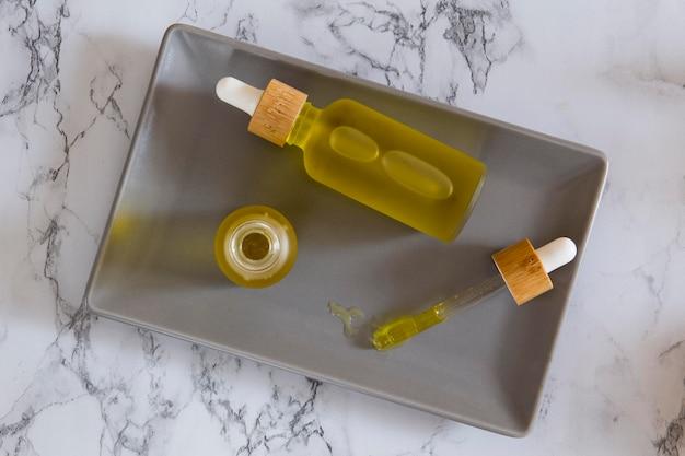 Variedade de conta-gotas de óleo cbd natural