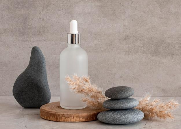 Variedade de conta-gotas para produtos para a pele
