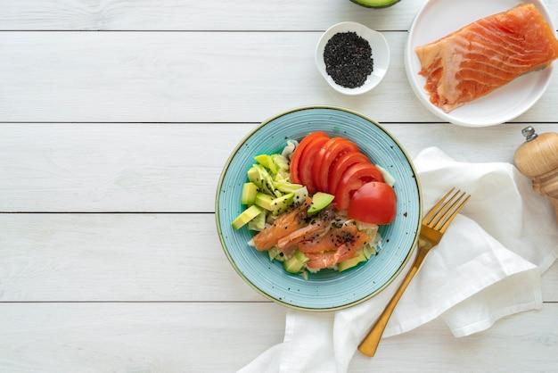 Variedade de deliciosos frutos do mar