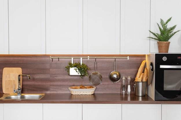 Variedade de design de interiores para casa