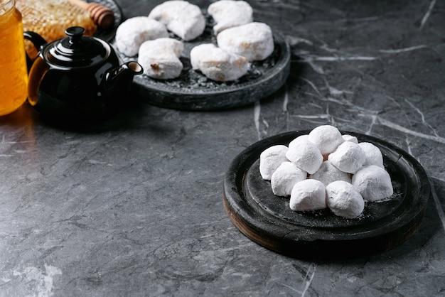Variedade de doces gregos tradicionais