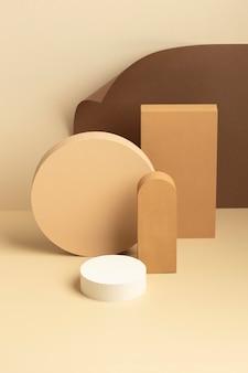 Variedade de elementos abstratos de design
