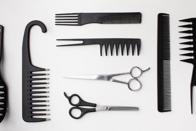 Variedade de equipamentos para o cabelo