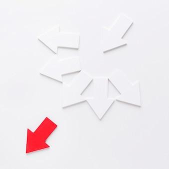 Variedade de flechas