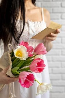 Variedade de lindos elementos para o dia das mães