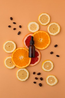 Variedade de óleo de jojoba saudável