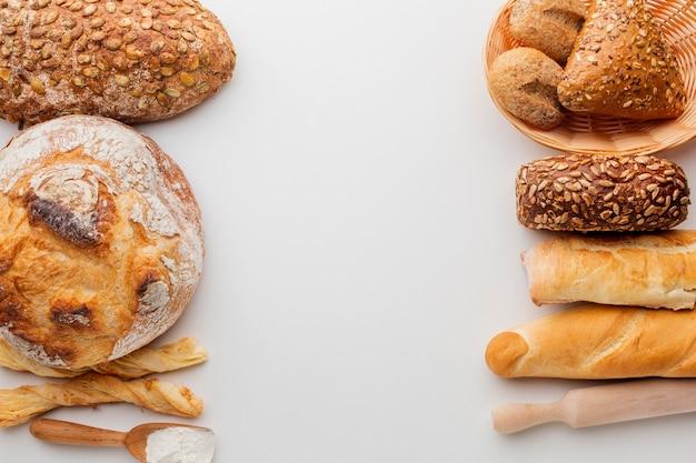 Variedade de pastelaria assada