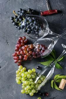 Variedade de uvas