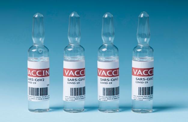 Variedade de vacina contra coronavírus para cuidados de saúde