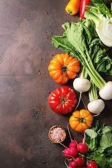 Variedade de vegetais