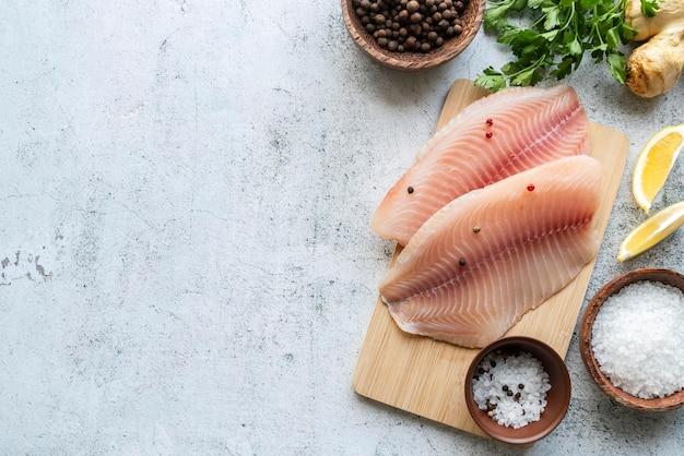Variedade deliciosa de frutos do mar