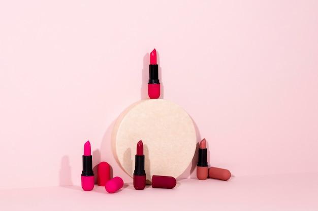 Variedade mínima de produtos de beleza