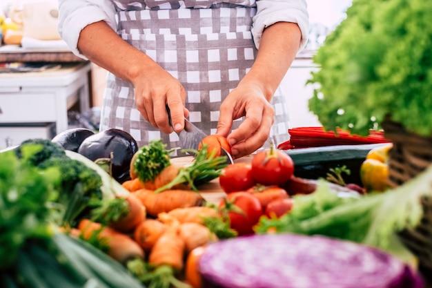 Variedade mista de vegetais Foto Premium