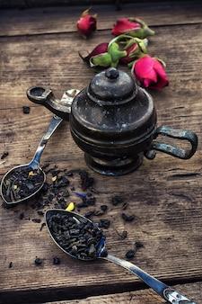 Variedades de chá seco