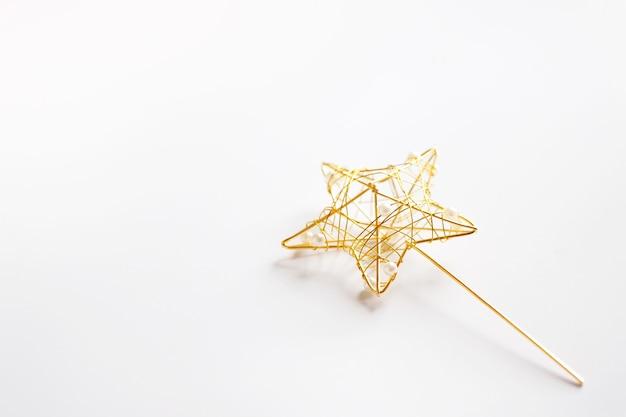 Varinha mágica para lançar varinha com estrela