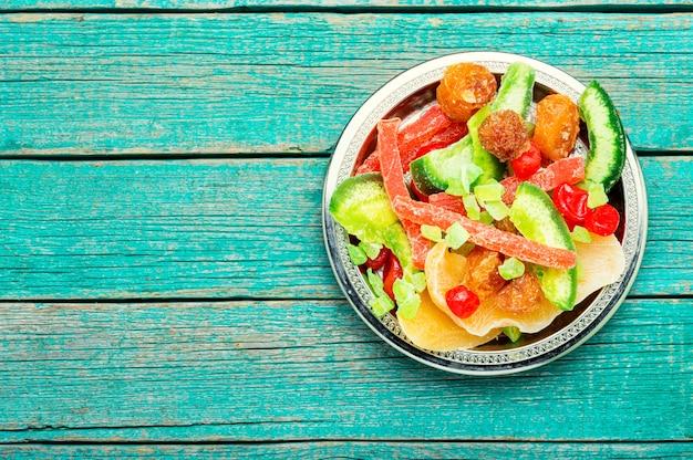Vários frutos secos