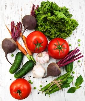Vários vegetais