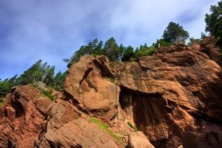Vaso rochas hdr branco